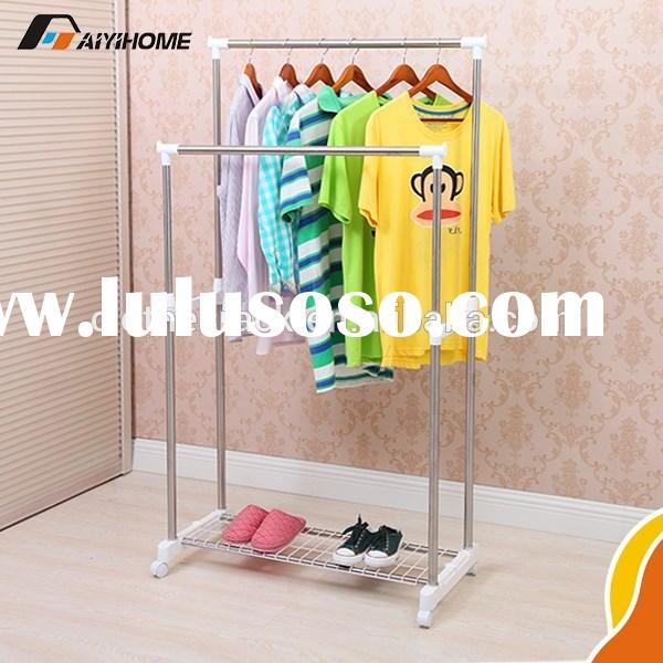 2015 New type Extensible portable wall mounted folding clothes drying rack clothes rack space saving