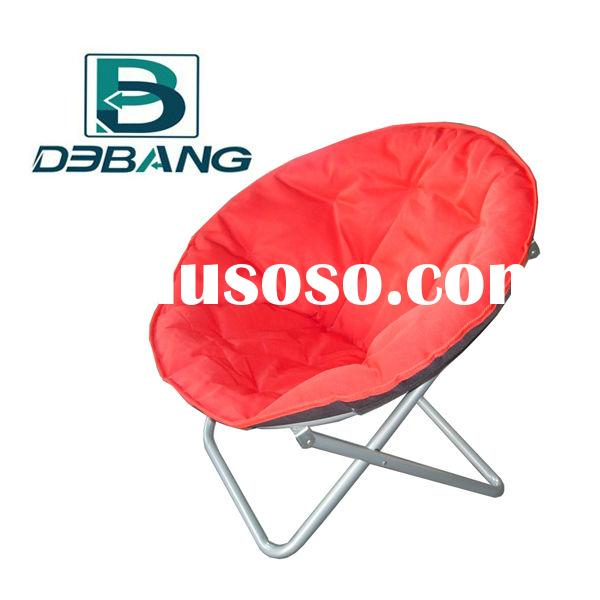 Adult Camping Round Folding Chairs Moon Chair