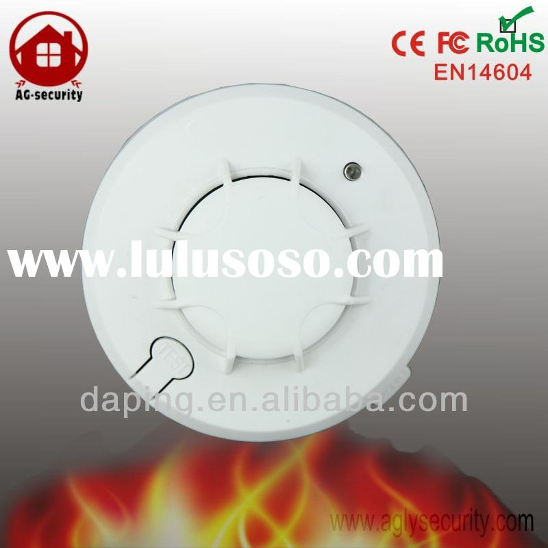 DC powered standalone smoke detector, hard wired smoke detectors with battery backup