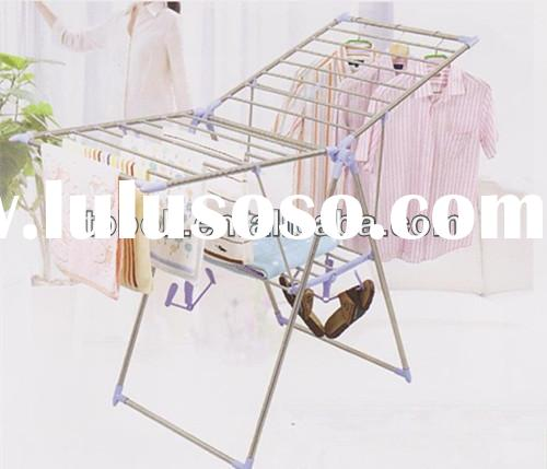 Outdoor Double-armed Clothes Drying Rack Folding Portable Electric Clothes Dryer