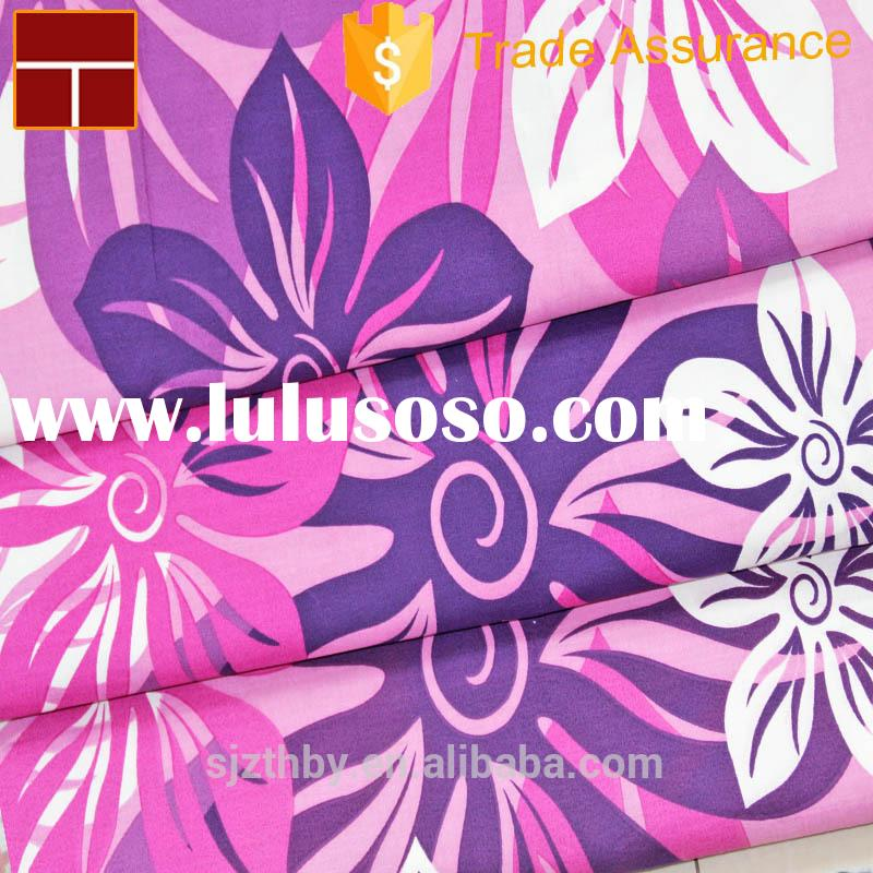 cotton material hot sale Home textile bed sheets for hotel &hospital