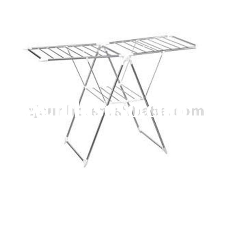 stainless steel movable clothes rack,portable drying rack manufacturer