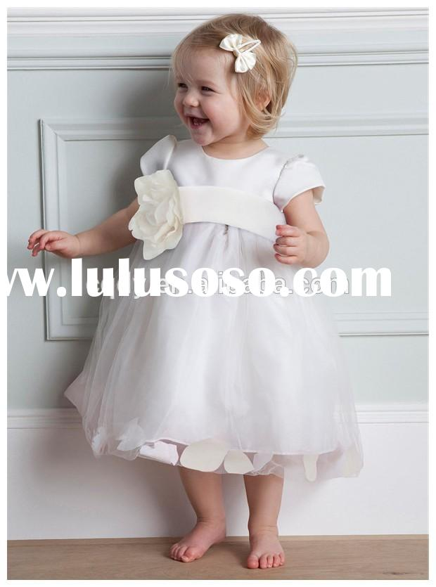2015 Spring baby frocks party wear baby frock designs fancy children frock model photo