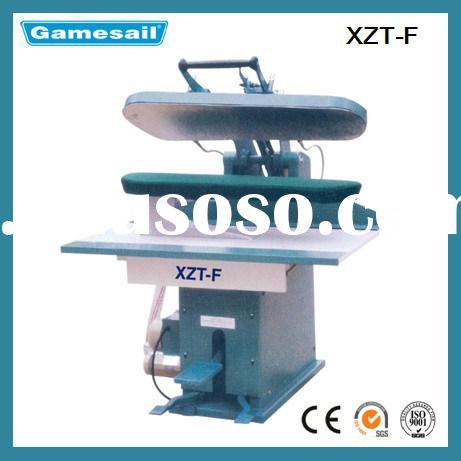 Automatic laundry and dry cleaning clothes pressing machine