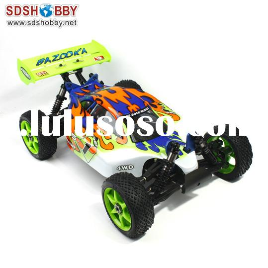HSP 1/8 Scale Brushless RC Electric Off-Road Buggy RTR (Model No.: 94081E9) with 2.4G Radio, 4WD Sys