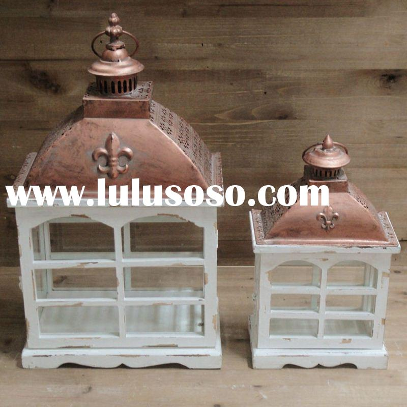 High-End Customizable Antique Stained Glass Hanging Lamps