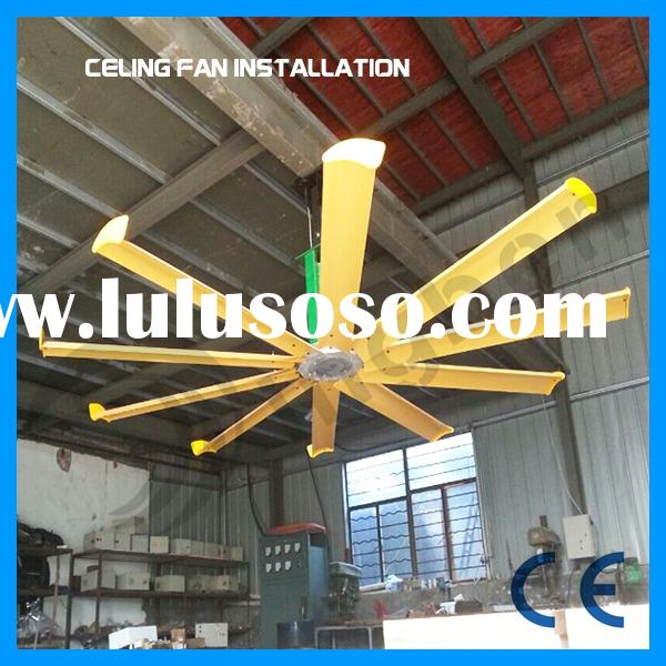 High quality air cool industrial ceiling fan factory large ceiling fan