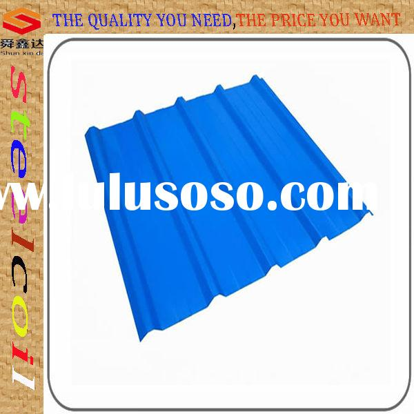 Long span all type color coated corrugated roofing sheet with all Ral color