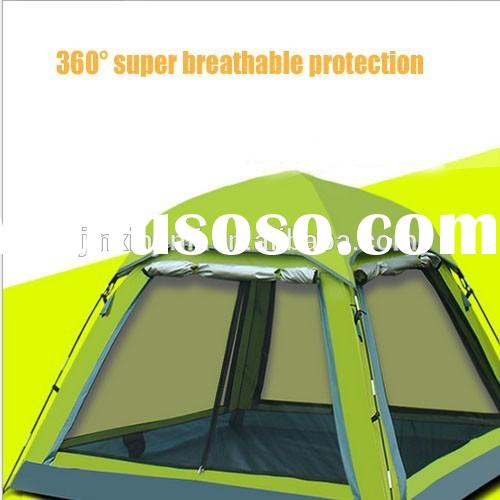 Popular automatic large outdoor tent sun protection camping tent for sales