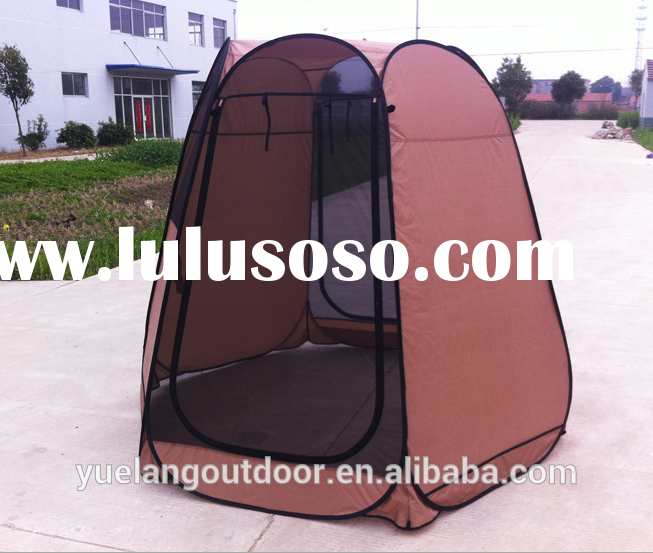 Portable pop up dressing room toilet tent camping shower tent