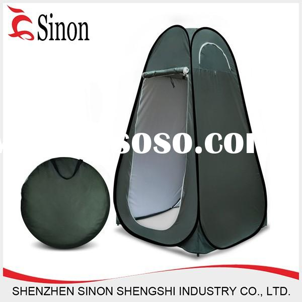 high quality new style polyester portable pop up dressing changing room camping toilet shower tent