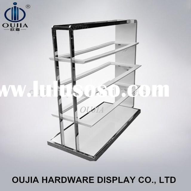 stainless steel shoe display stand, painting display stand, business shoe stand rack