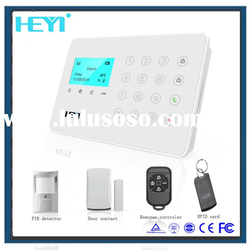 10 languages cheapest alarm system! Best burglar video security alarm security system for home