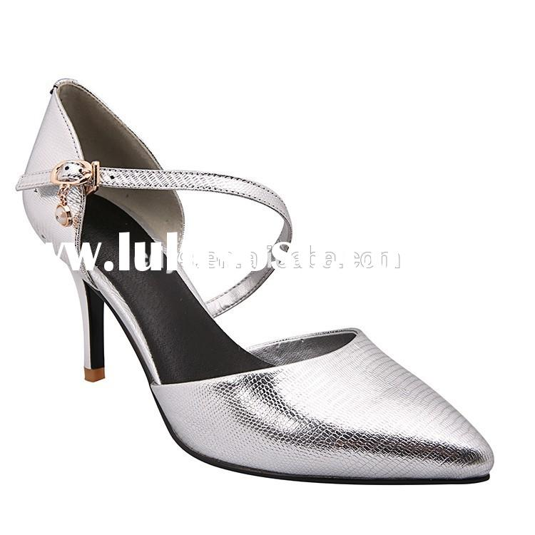 2015 fashion women high-heel dress shoes wedding shoes low heel pumps in stock