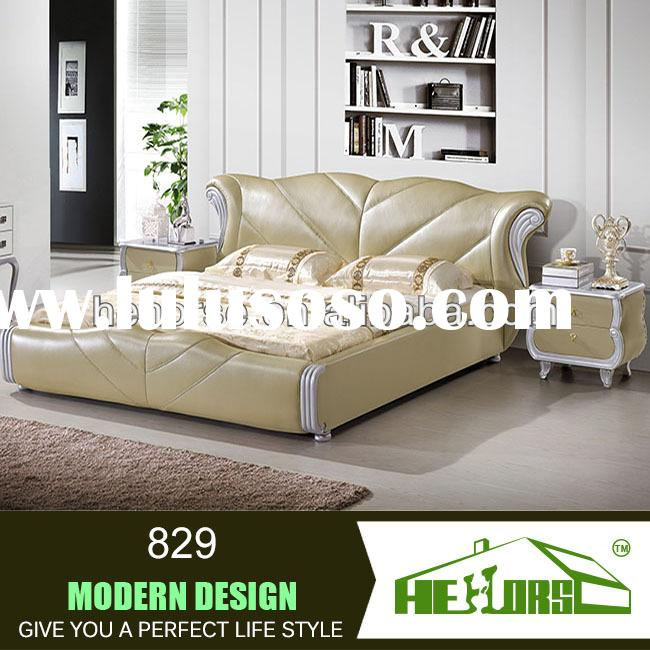 829# french reproduction bed modern upholstered beds used bedroom furniture for sale