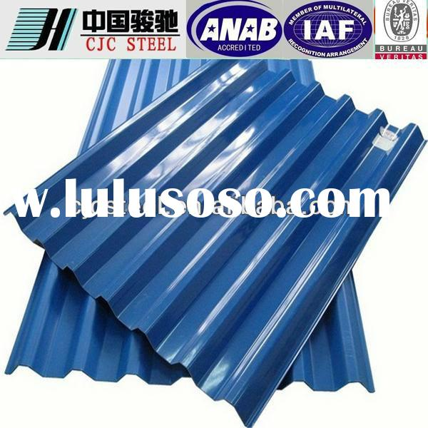 Lowest Price Colorful Metal Roofing Sheet From CJC STEEL Factory