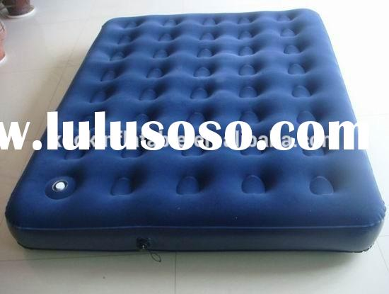 Top quality durable queen size air mattress with pump inflatable air bed