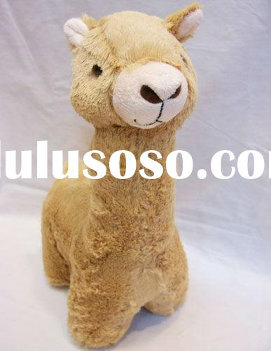 Wholesale hot sale New fashion design lovely Anime gift Grass-Mud Horse Yellow/White animal soft toy