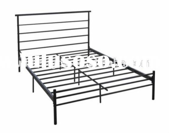 cheap queen size steel bed frame
