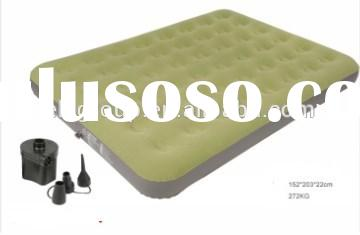 China Suppliers New Color Flocked Inflatable Air Mattress