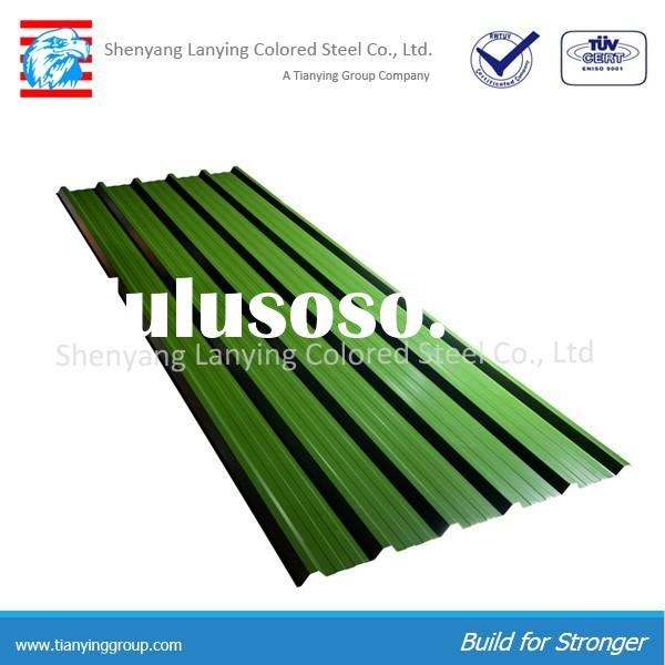 color coated corrugated metal roofing sheet prices