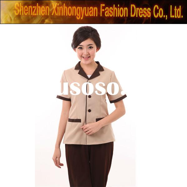 Hotel spa uniform for sale price china manufacturer for Spa uniform canada