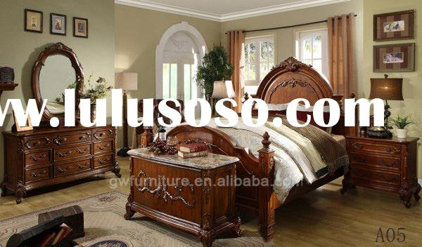 French Style Bedroom Furniture YJBN YJ 802 For Sale