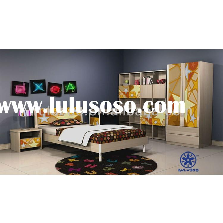 2015 HULUBAO 1310A MDF beautiful and comfortable children bedroom,kids bedroom furniture for boys