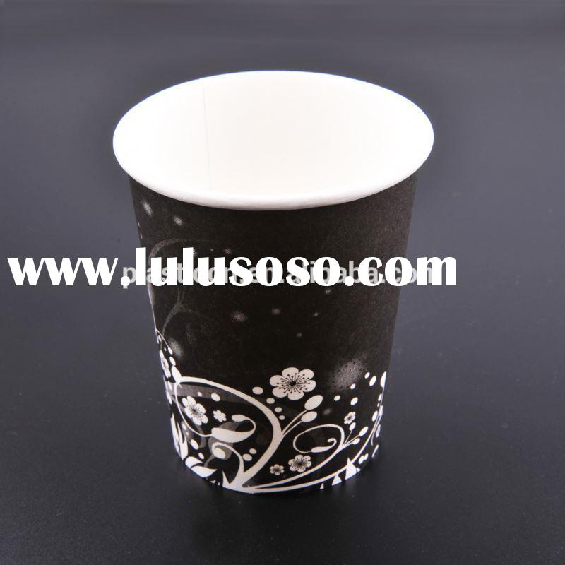 7oz cup, hot tea container, disposable cup and saucer