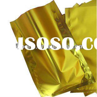 Custom retail food packaging bag/ Plastic stand up soup bag with zipper