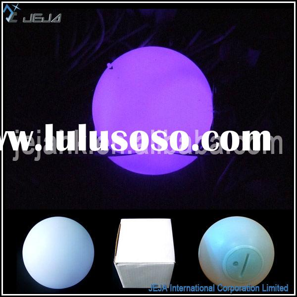 Magic Color Changing Outdoor Floating Led Ball Light For Swimming Pool