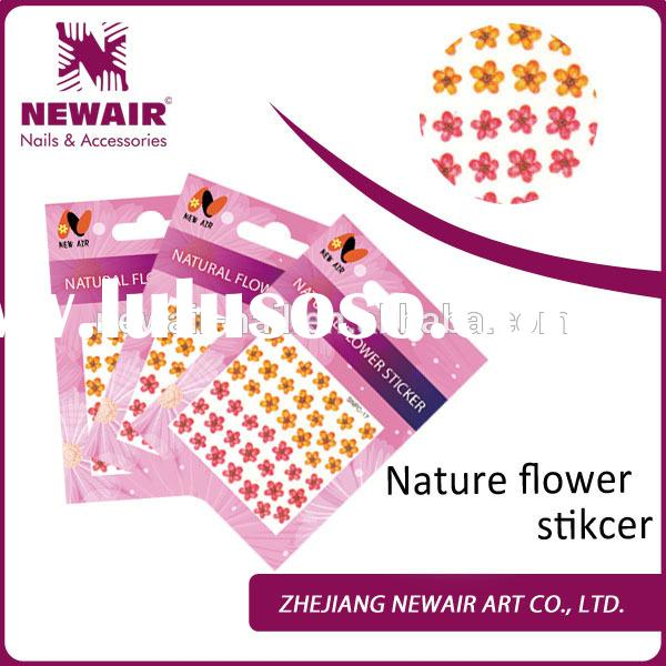 Newair hot sale nail art 3d stickers for nail decorations
