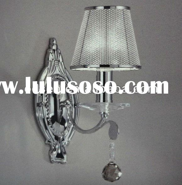 Silver color clear acrylic lamp shade from china