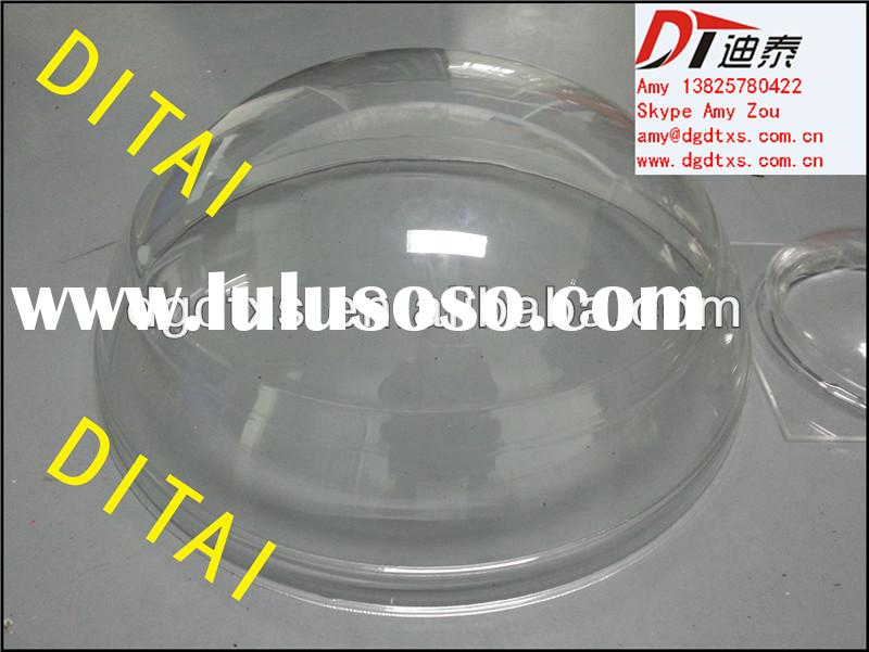 Vacuum formed Clear Acrylic lamp shade