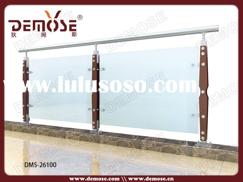 glass handrails for stairs/plexiglass stair handrail for 9 days to Sydney