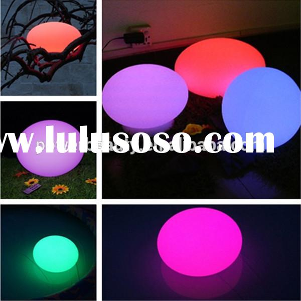 led flat ball and floating ball light for swimming pool IP68 waterproof manufacturer