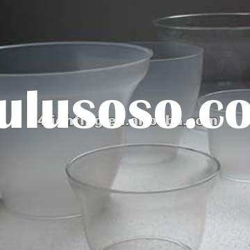 led clear acrylic lamp shade for outdoor lighting