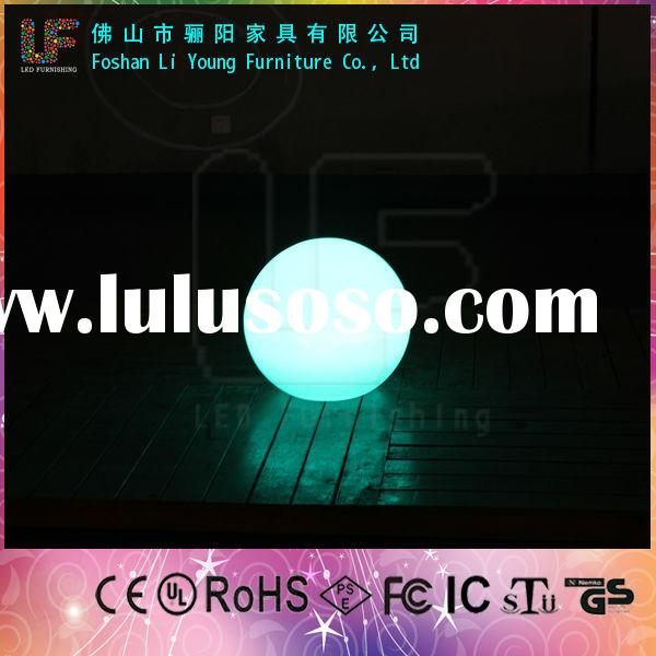 magic color change outdoor floating led ball light for swimming pool