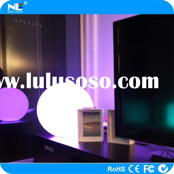 remote control color changing waterproof led swimming pool ball/led floating ball light for decorati