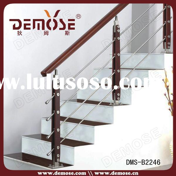 stainless steel wood banisters and handrails