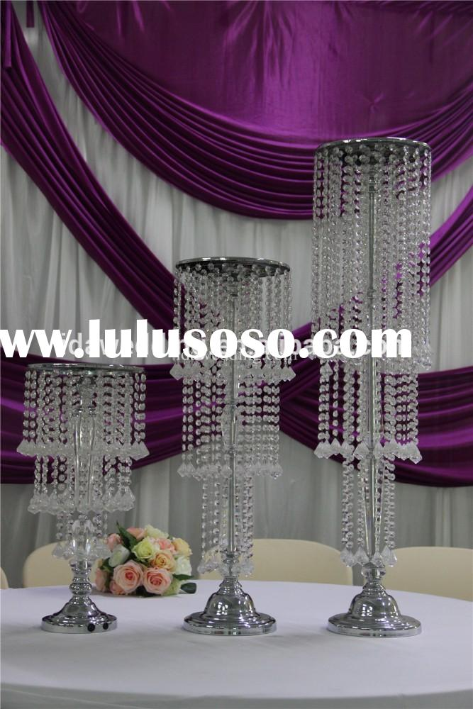 wedding event clear acrylic pedestal/acrylic flower stand/acrylic flower vase stands with light and