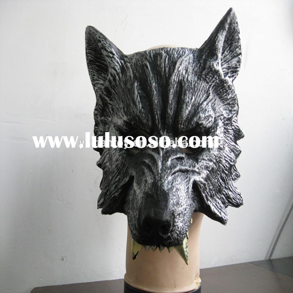 2015 New Design Factory Direct Sale Halloween Party Dance Costume Halloween Wolf Mask For Halloween