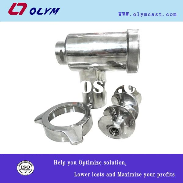 OEM stainless steel meat grinder parts investment castings