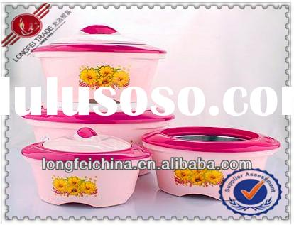 Plastic Portable Food Warmer/Food Warmer Container/Insulated Food Warmer