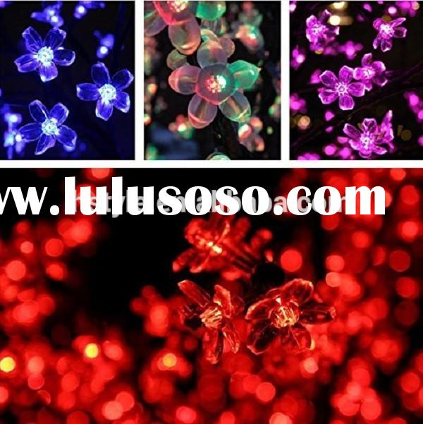 Solar Fairy String Lights Blossom Decorative Gardens, Lawn, Patio, Christmas Trees, Weddings, Partie