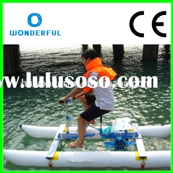 [Wonderful!!!]Lowest price single inflatable water bike for sale.Popular inflatable water bike for s