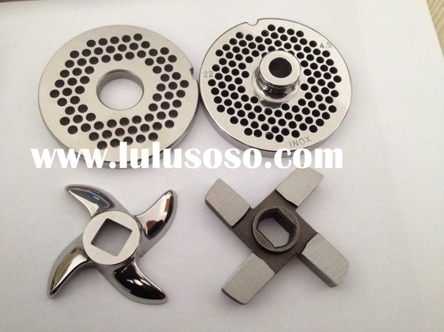 diamond style meat chopper blades, meat mincer accessories, meat grinder spare parts, plates and kni