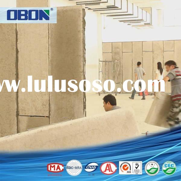 OBON quick wall panels light weight precast concrete fence molds for sale