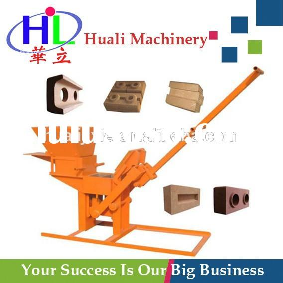 QMR2-40/1-40 Manual Compressed Earth Block Machine used construction equipment for sale
