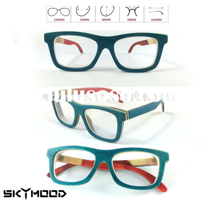 latest eyeglass frames tiwz  2015 Latest Optical Eyeglass Frame Manufacturers In China For Women Italy  Brand Cheap Wood Optical F